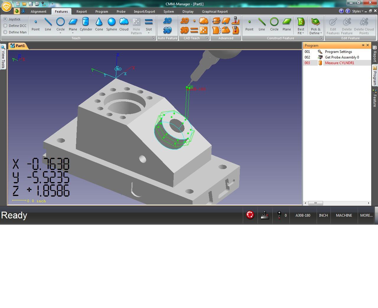 CMM-Manager for iNEXIV