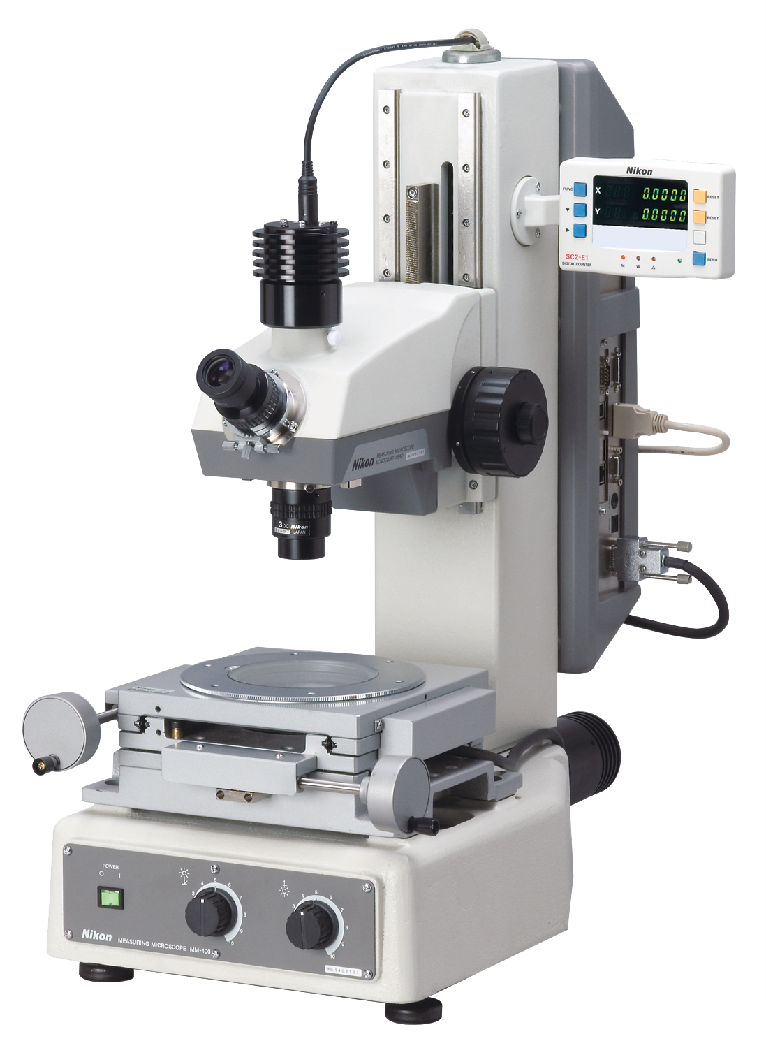 Nikon MM-400/800 Series Measuring Microscopes